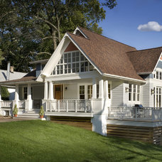 Traditional Exterior by Bennett Frank McCarthy Architects, Inc.