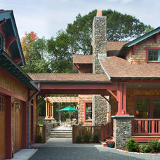 Craftsman Exterior by Brewster Thornton Group Architects, LLP