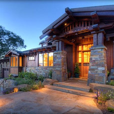 Craftsman Exterior by James D Rogers, Builder