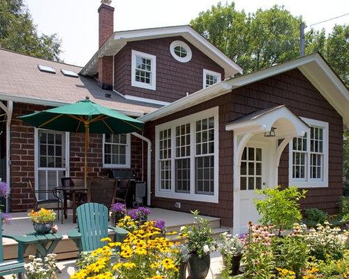 Door overhang home design ideas pictures remodel and decor for Craftsman corbels exterior