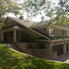 traditional exterior by Structured Creations Inc