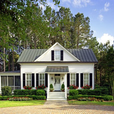 Traditional Exterior by Our Town Plans
