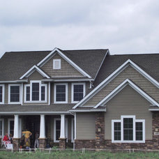 Traditional Exterior by Miller Custom Stone, Ltd.