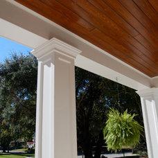 Traditional Exterior by MJS Inc. Custom Home Designs