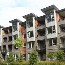 Modern Exterior by Centra Windows