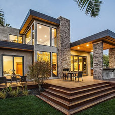 Modern Exterior by CleverHomes presented by Toby Long Design