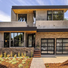 Contemporary Exterior by CleverHomes presented by Toby Long Design
