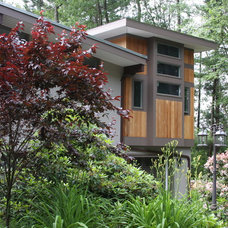Asian Exterior by JFF Design Architects