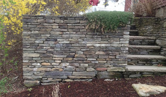 Burlington penn flatstone walls and steps