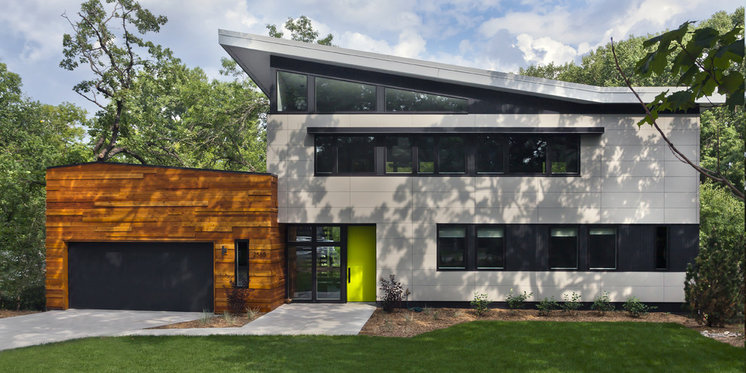 Contemporary Exterior by RoehrSchmitt Architecture