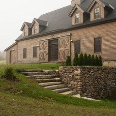 Farmhouse Exterior by Bensonwood