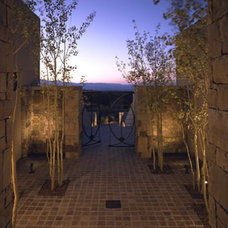 Modern Entry by Archaeo Architects