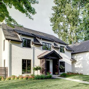 75 Beautiful White Brick Exterior Home Pictures Amp Ideas