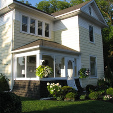 Traditional Exterior by Sandra Howie