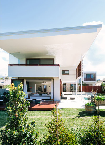 Houzz Tour Surfer S Beach House Built For Outdoor Living