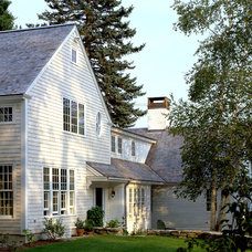 Traditional Exterior by Whitten Architects