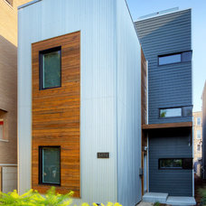 Modern Exterior by Square Root Architecture + Design, Ltd.