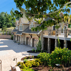 Traditional Exterior by Custer Design Group