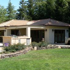 Mediterranean Exterior by Orchard Home Design