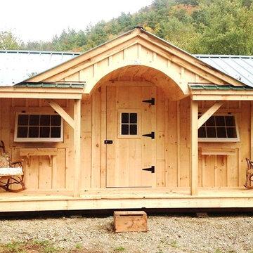 Cabin Kits & Cottage Kits ~ Gibraltar Cabin 12' x 20'