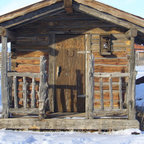 Cherry Hills Western Eclectic Rustic Exterior Denver
