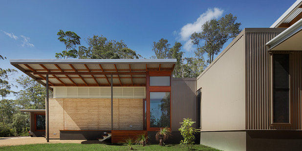 Modern Exterior by Tim Ditchfield Architects