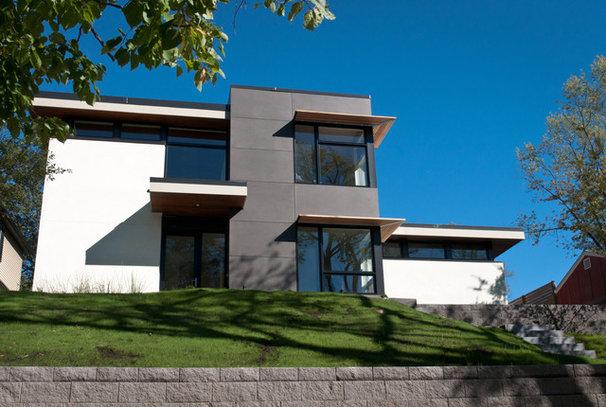 Contemporary Exterior by JALIN Design, LLC