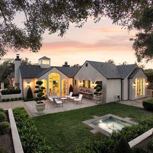 interesting traditional home exterior design | 75 Most Popular Traditional Santa Barbara Exterior Home ...