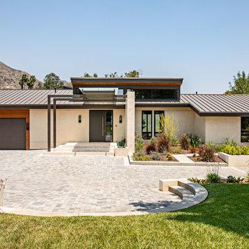 California Modern Entry Door