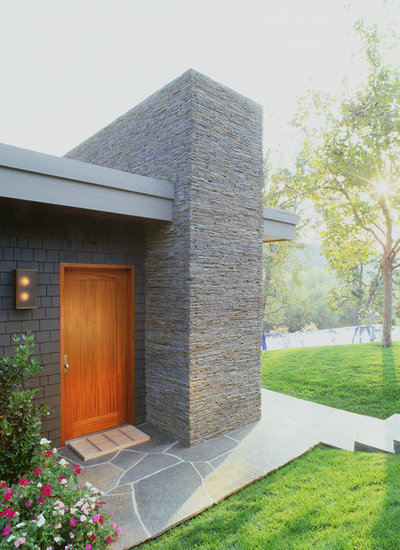 Modern Exterior by Dufner Heighes Inc