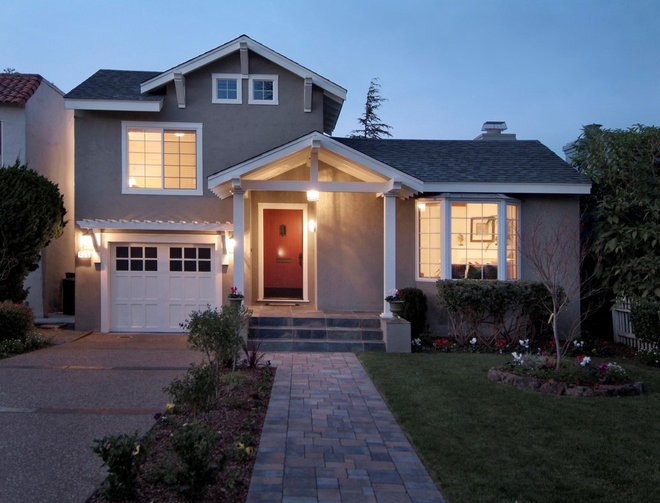 Traditional Exterior by BMF CONSTRUCTION