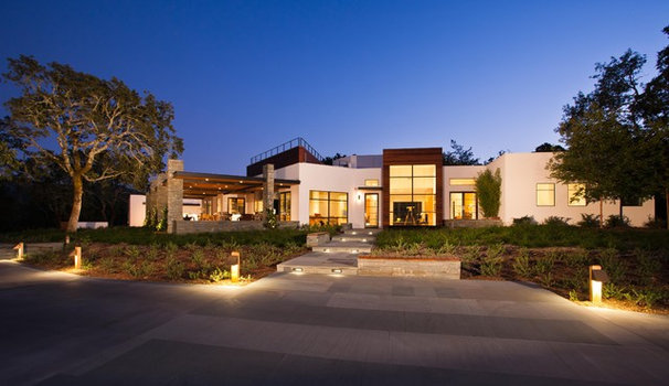 Contemporary Exterior by Strening Architects