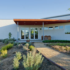 Midcentury Exterior by Make Architecture