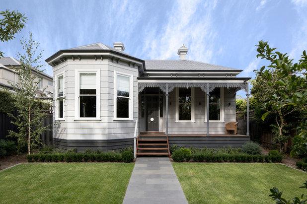 Victorian Exterior by Eco Edge Architecture + Interior Design
