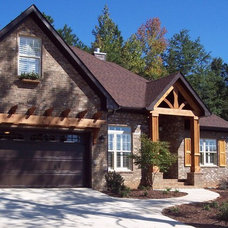 Traditional Exterior by Homeworks of Alabama, Inc