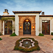 Mediterranean Exterior by Hendricks Construction