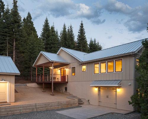 Industrial Sacramento Exterior Home Design Ideas Remodels