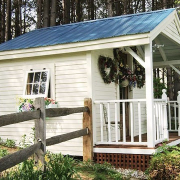 Camp, Cottage & Cabin Kits ~ Pond House Cabin (Featured in Better Homes & Garden