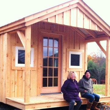Camp, Cottage & Cabin Kits ~ Pond House Cabin