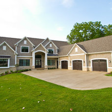 Traditional Exterior by MB Designs, LLC