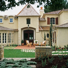 Traditional Exterior by Candelaria Design Associates
