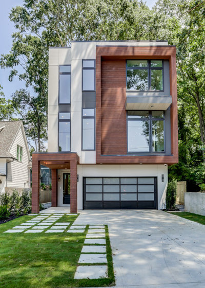 Contemporary Exterior by First Street Builders