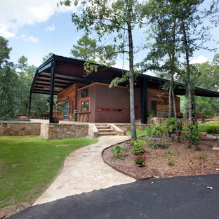canopy house . Inspiration for a small rustic exterior home remodel in Dallas & Canopy House | Houzz