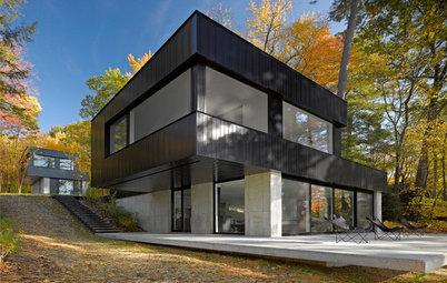Dark Exterior, Light Interior: 6 Homes That Celebrate Contrast