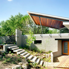 Contemporary Exterior by Tom Hurt Architecture