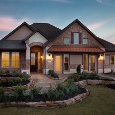 Traditional Exterior by Connie Anderson Photography
