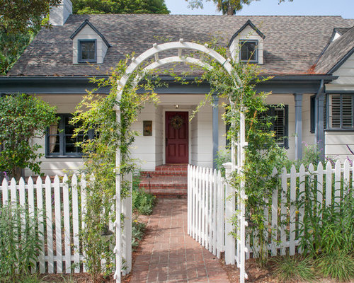White Picket Fence Houzz
