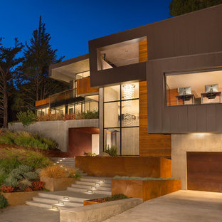 75 Contemporary Exterior Home Design Ideas & Remodeling Pictures That Will Inspire You | Houzz