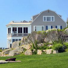 Beach Style Exterior by Howell Custom Building Group