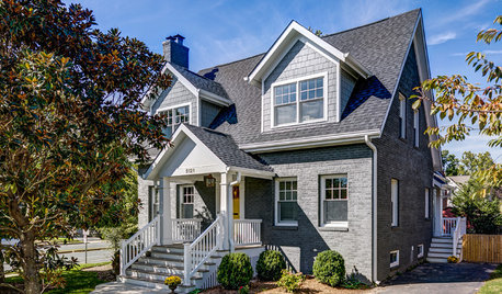 Houzz Tour: Cape Cod-Style Home Doubles in Size